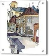 Rue Font St Jean, Ste Alvere, Dordogne Acrylic Print
