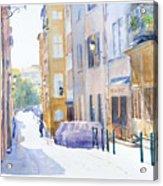 Rue Saint Georges Acrylic Print