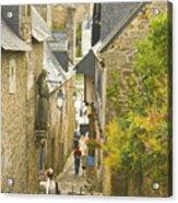 Ruelle Qui Mene Au Port De St. Goustan Acrylic Print