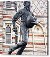 Rugby's Founder William Webb Ellis Acrylic Print