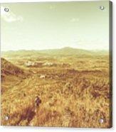 Rugged Bushland View Acrylic Print