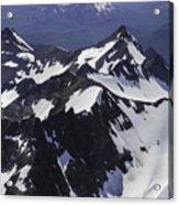 Rugged Mountain Peaks Acrylic Print