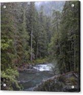 Rugged River Acrylic Print