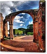 Ruinas En Altagracia Acrylic Print