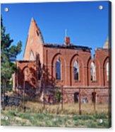 Ruined Church In Rural Utah Acrylic Print