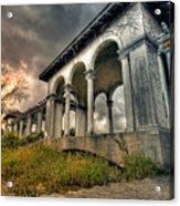 Ruins At Dusk Acrylic Print