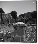 Ruins In The Burren County Clare Ireland Acrylic Print