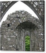 Ruins Of A 9th Century Monastery In Ireland Acrylic Print