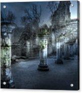 Ruins Of Abbey Acrylic Print