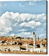 Ruins Of Delos Acrylic Print