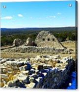 Ruins Of Gran Quivira  Acrylic Print
