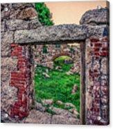 Ruins Of White's Factory - Doorways Acrylic Print