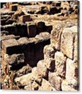 Ruins Of Zippori Acrylic Print