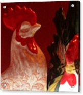 Ruler Of The Roost Acrylic Print