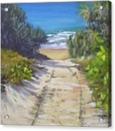 Rules Beach Queensland Australia Acrylic Print