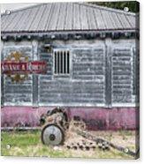 Rum Factory Acrylic Print