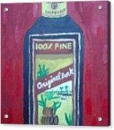 Rum Acrylic Print by Patrice Tullai