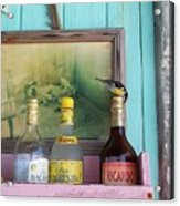 Rum Shack Bananaquit Acrylic Print