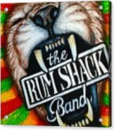 Rum Shack Roaring Lion Acrylic Print