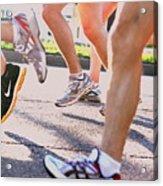 Run Acrylic Print by Susie DeZarn