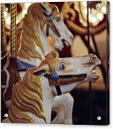 Runaway Horses Acrylic Print