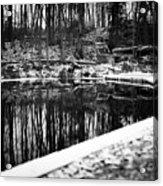 Runeberg's Fountain Acrylic Print