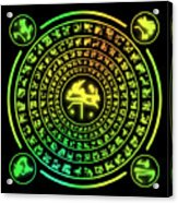 Runes Acrylic Print