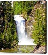 Running Eagle Falls Acrylic Print