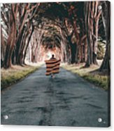Running In The Forest Acrylic Print