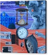 Running Out Of Time Acrylic Print
