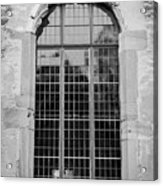 Ruprechtsbau Window B W Acrylic Print