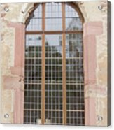 Ruprechtsbau Window Acrylic Print