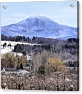 Rural Beauty Vermont Style Acrylic Print