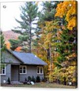Rural Colorful Autumn Landscape 3 Acrylic Print