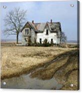 Rural Decay Acrylic Print