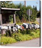 Rural Delivery No 6 Acrylic Print