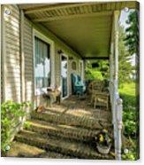 Rural Front Porch Acrylic Print