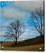 Rural Landscape - Skyline Drive Acrylic Print