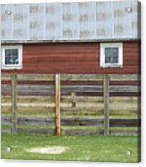 Rural Patterns Acrylic Print