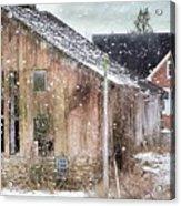 Rural Relic Acrylic Print by Stephanie Calhoun