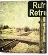 Rural Retreat Acrylic Print