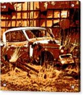 Rural Rust Acrylic Print