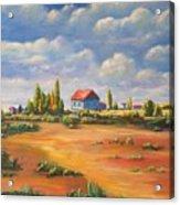 Rural Skies Acrylic Print