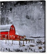 Rural Textures Acrylic Print by Evelina Kremsdorf