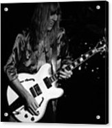 Rush 77 #17 Enhanced Bw Acrylic Print