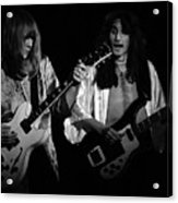 Rush 77 #46 Enhanced Bw Acrylic Print