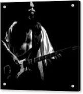 Rush 77 #56 Enhanced Bw Acrylic Print
