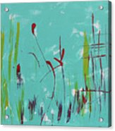 Rushes And Reeds Acrylic Print