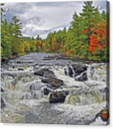 Rushing Towards Fall Acrylic Print