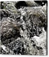Rushing Waterfall Acrylic Print